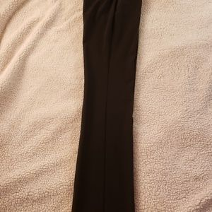 Theory Black Straight Leg Dress Pants. Sz 2.